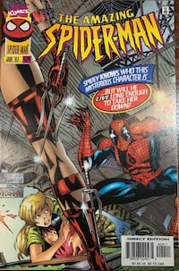 AMAZING SPIDER-MAN #424 NM-