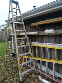 I have a 12 foot ladder and 10 foot ladder and a 6-foot ladder for sal