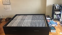 Bed frame ( brand new ) with storage space  Alexandria, 22311