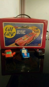 Vintage toy cars 1970's