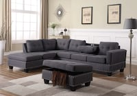 Brand new sectional sofa with ottoman included Toronto, M4H 1G9