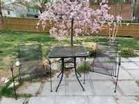 Metal Patio Table and Chairs Sterling