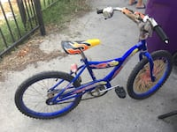 Blue and yellow bmx bike Compton, 90221