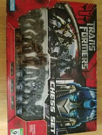 DreamWorks Transformers Chess Set.