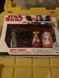 4 Star Wars body washes  Alamo Heights, 78209