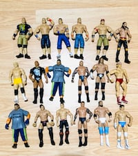 Huge Selection of Mattel  WWE WWF ECW Wrestling Figures! Milton, L9T 5A7