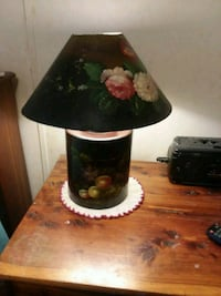 black and white floral table lamp Connelly Springs, 28612