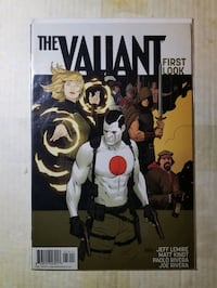 Valiant First Look (9.4) NM