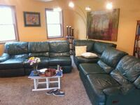 Leather Sectional Couch * 3 recliners Englewood, 45322