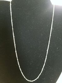 "Brand New Silvertone  Chain 7"" long  Mosheim, 37818"