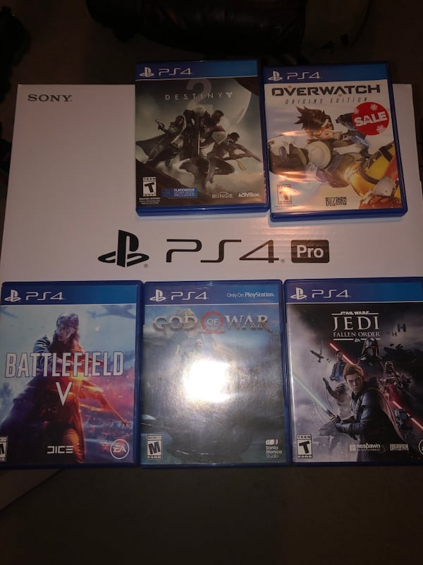 PS4 PRO 1TB FOR SALE!!! Gold Dualshock 4, Games and Sony standard mic! dbd41d5a-7346-4da9-b6f0-b1f9effee98e