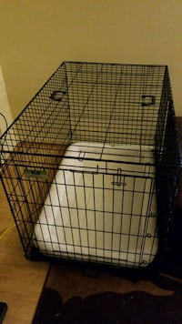 Top Paw foldable dog crate with pad North Potomac, 20878