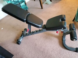 Adjustable FID Weight Bench