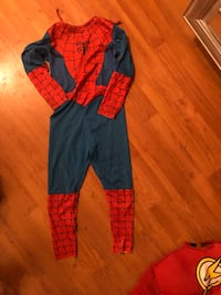 Spider-Man costume child large West Covina