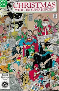 DC Special Christmas With The Super-Heroes #2 1989