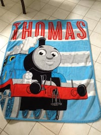 Thomas the train ...w or blanket ..very soft  Mississauga, L4X 1J2