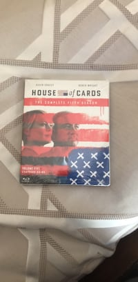 House of Cards bluray dvd set