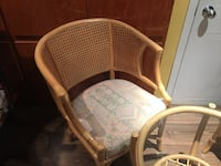 brown wooden framed padded armchair 789 km
