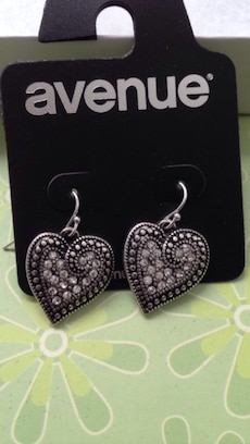 Brand new earrings never worn. 2 pair for $20