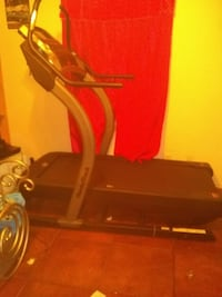 black and gray NordicTrack treadmill Killeen, 76549