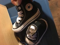pair of black Converse All Star high-top sneakers Seven Valleys, 17360