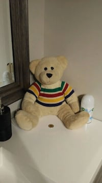 Hudson's Bay Teddy bear and Vtg Hudson's Bay tin  Dollard-Des Ormeaux, H9G 2L6