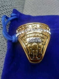 Golden State Warriors championship Ring Maywood, 90270