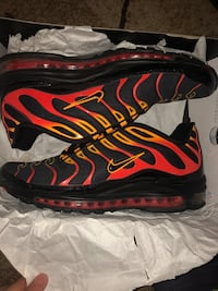"Air Max 97/Plus ""Shock Orange"" Size 10 Toronto, M2M 3Z2"
