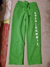 Abercrombie heavy weight sweat pants Small