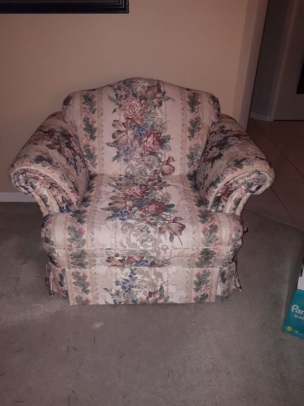 3 piece sofa loveseat  and chair 2
