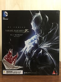 Batman Red Colored Limited Edition Play Arts