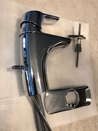 Moen Chrome One Handle Bathroom Faucet in a Brand Like new Condition