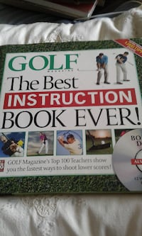 Book Golf The Best Instruction Book Ever! with CD Delta