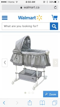 Baby's gray bassinet screenshot Kitchener, N2E