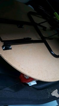 Reduced..Round foldable table
