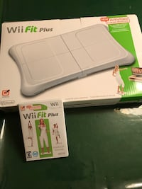 Wii Fit plus and  Wii fit workout  pak.