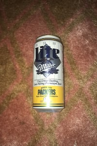 Green Bay Packers coin beer can