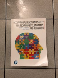Occupational Health and Safety for Technologist, Engineers, and Managers - 2nd Canadian Edition  Toronto, M3M 2R4