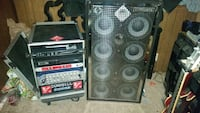SWR MOBASS AMP AND CABINET COMBO