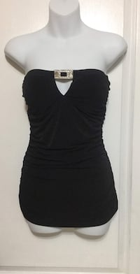 Calvin Klein Black Dress Tube Top