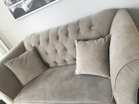 3 piece sofa set for sale with crystal studs Milton, L9T 2R1