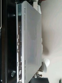 white and black Sony DVD player Mississauga, L5A 3R1