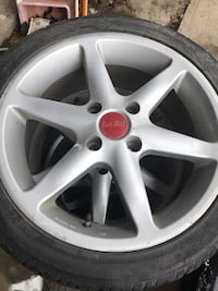 Set of racing rims  Toronto, M3K 1K4