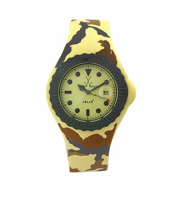 New ToyWatch Unisex Jelly Army 43mm Watch f0d46797-d91a-4700-9d39-c5aa886dfa10
