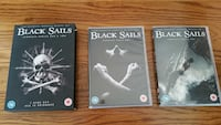 Black Sails season 1 & 2 DVD box set (Region 2)