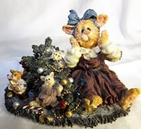 Boyds Christmas Cat Patience Purrkins & The Mischief Makers Catastrophe Oklahoma City
