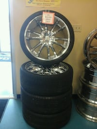 VCT bossini  rims w 5x4.75 tires. North Charleston, 29406