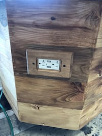Hand crafted entertainment end table with usb ports Nashville, 37013