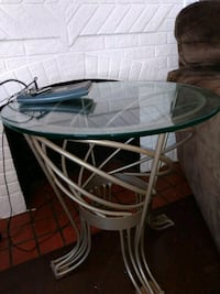 Heavy Glass tables 3-set