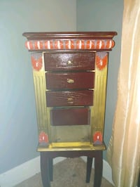 Hand Painted Jewelry cabinet
